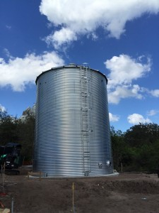 steel erected tanks