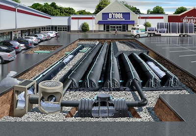 Cultec Industrial Drainage System