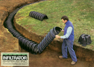 Infiltrator Leach Field Systems - No rock or pipe required